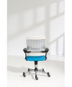 Krzesło regulowane Tio jeżynowo/białe