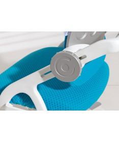 Krzesło regulowane Yvo lazurowo niebieskie/białe