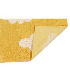 Dywan Cloud Mustard 100% bawełny, do prania w pralce, 120x160 cm, Lorena Canals
