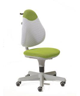 Krzesło regulowane Pepe zielono/białym PAIDI