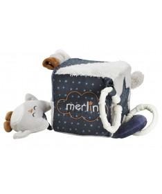 Kostka do zabawy 9x9cm, kolekcja Merlin, Sauthon