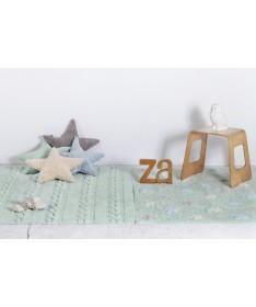 Poduszka Star Mint, Lorena Canals
