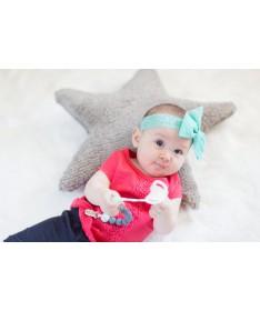 Poduszka Star Light Grey, Lorena Canals