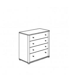 Komoda 4 szuflady PAIDI FLEXIMO
