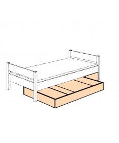 Pojemnik na pościel 3/4 pod  łóżko  PAIDI FLEXIMO