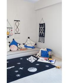 Dekoracja na ścianę Wall Hanging Bereber Black, 100% bawełna 65(130)x45cm,  Lorena Canals