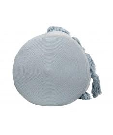 Kosz Basket Tassels Soft Blue