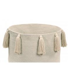 Kosz Basket Tassels Natural