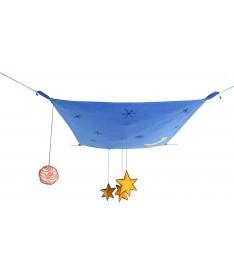 Dekoracja na sufit Galaxy Sky, 100% bawełna 100x120cm,  Lorena Canals
