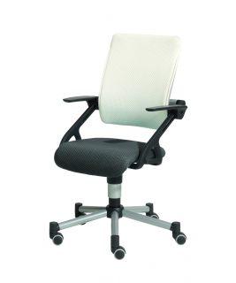 Krzesło regulowane Tio biało/szare PAIDI