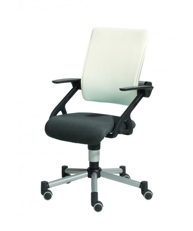 Krzesło regulowane Tio biało-szare PAIDI