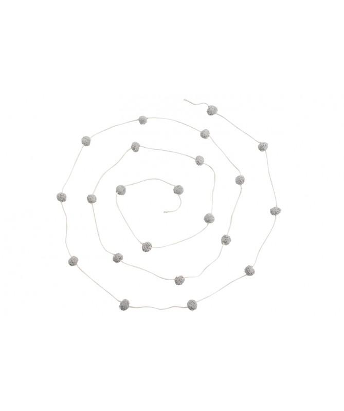 Garland Candy Necklace - Light Grey
