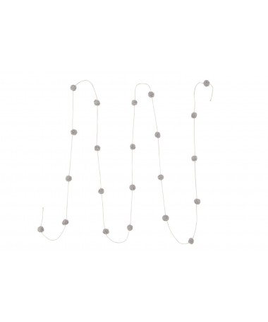 Garland Candy Necklace - Light Grey