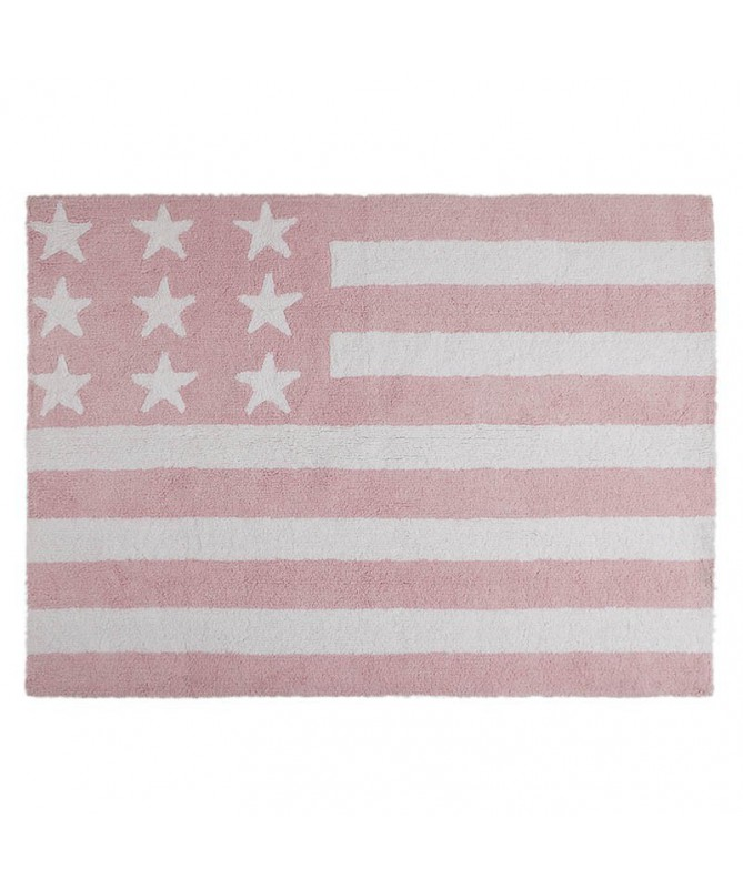 Flag American Baby Rosa