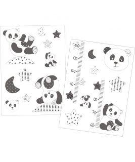 Naklejka na ścianę Panda CHAO CHAO