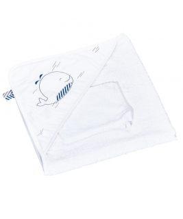 Ręcznik kąpielowy BLUE BALEINE