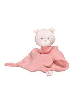 Chusteczka/przytulanka - kolor różowy LILY ROSE