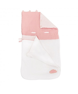 Becik Nomad 80cm- kolor różowy LILY ROSE
