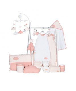 Ręcznik kąpielowy- kolor różowy LILY ROSE