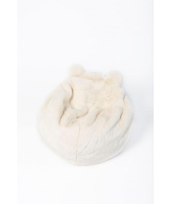 Pufa dla dzieci Niedźwiedź polarny, Wild&Soft