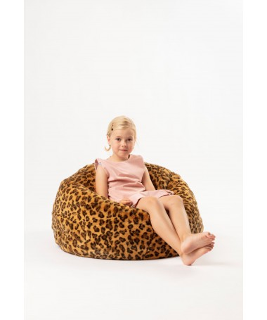 Pufa dla dzieci Lampart, Wild&Soft