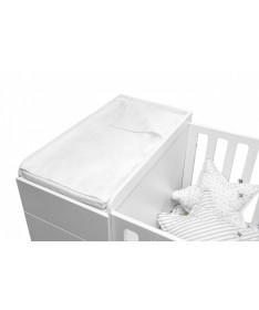 Przewijak z pokrowcem i ręcznikiem 38x70 biały UP!, Bellamy