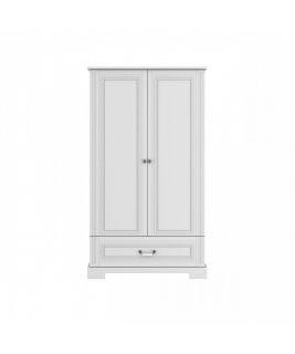 Szafa 2-drzwiowa Tall INES WHITE Bellamy