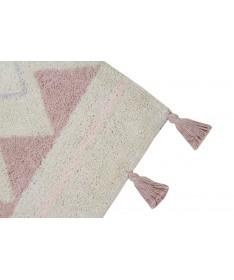 Dywan Azteca Natural Vintage Nude 100% bawełny, do prania w pralce, 140x200 cm, Lorena Canals