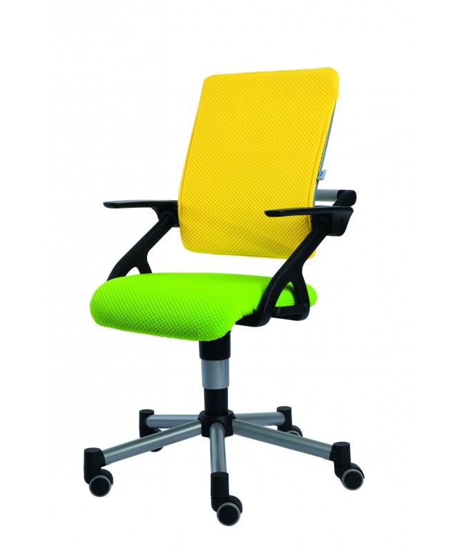 Krzesło regulowane Tio żółto-zielone PAIDI