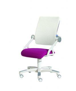 Krzesło regulowane YVO jeżynowo-białe Paidi