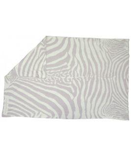 Koc wełniany Manta Zebra Grey/Gris
