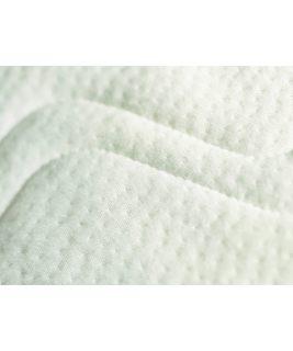 Materac TWIN w bialym pokrowcu bawełnianym 90x200 PAIDI