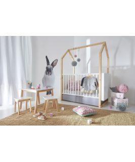 Zestaw mebli dla niemowlaka Pinette BELLAMY