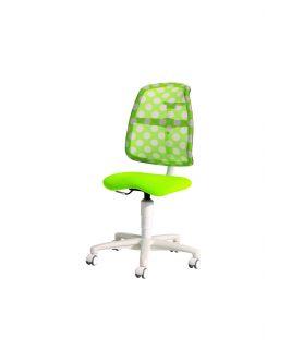 Krzesło regulowane SINO lime/Dots white