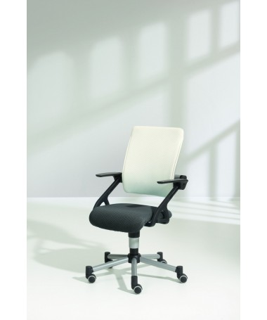 Krzesło regulowane Tio SITNESS szaro-białe PAIDI