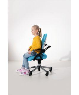 Krzesło regulowane Tio SITNESS lazurowy niebieski-białe PAIDI