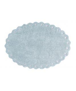Lorena Canals Dywan Bawełniany Picone Pearl Blue