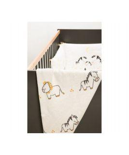 Knitted Blanket PLUCHE ET POMPON