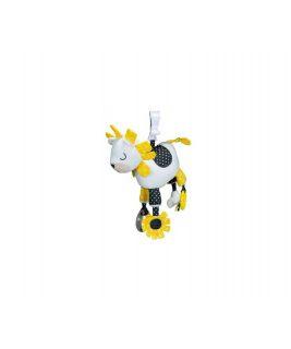 Activity toy with clamps PLUCHE ET POMPON