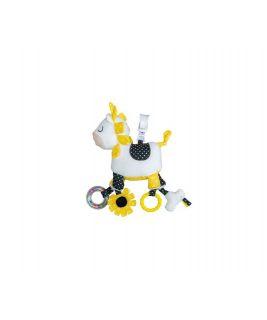 Activity toys with clamps PLUCHE ET POMPON