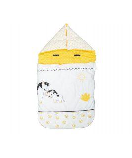 On the go sleeping bag for newborn PLUCHE ET POMPON