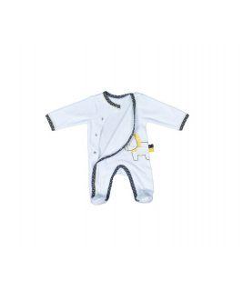 Pyjama velvet lion - 1 month PLUCHE ET POMPON