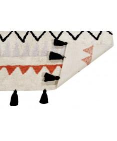 Dywan Azteca Natural Terracota 100% bawełny, do prania w pralce, 140x200 cm, Lorena Canals