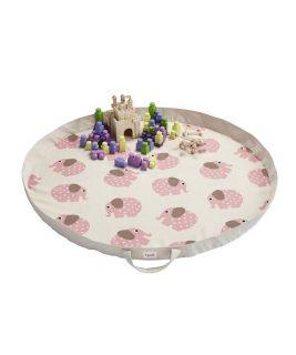 3 Sprouts Mata na Zabawki Słoń Różowy