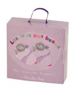Buciki różowe 12 cm, Les jolis