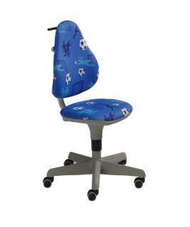 Krzesło regulowane Pepe football/niebieski PAIDI