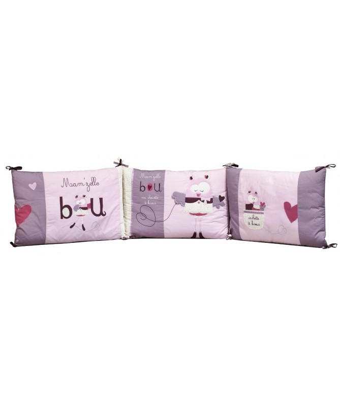 Ochraniacz do łóżczka, Mam'zelle Bou,SAUTHON