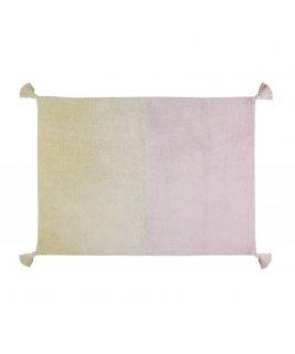 Dywan Bawełniany Degrade Vanilla/Soft Pink