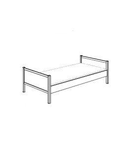 Łóżko 90x200 Sophia PAIDI