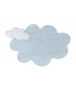 Dywan Puffy Dream Blue, 100% bawełny, do prania w pralce, 160x180cm Lorena Canals